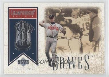 2002 Upper Deck [???] #CC3 - Chipper Jones