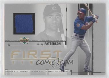 2002 Upper Deck [???] #FT-CP - Corey Patterson