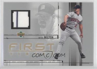 2002 Upper Deck [???] #FT-EM - Eric Milton