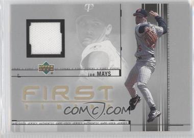 2002 Upper Deck [???] #FT-JM - Joe Mays