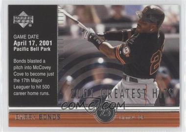 2002 Upper Deck [???] #GH1 - Barry Bonds