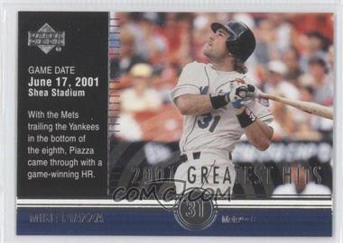 2002 Upper Deck [???] #GH4 - Mike Piazza