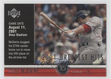 2002 Upper Deck [???] #GH6 - Mark McGwire
