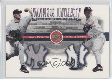 2002 Upper Deck [???] #YJ-PR - Andy Pettitte, Mariano Rivera