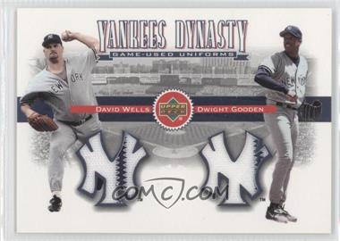2002 Upper Deck [???] #YJ-WG - David Wells, Dwight Gooden
