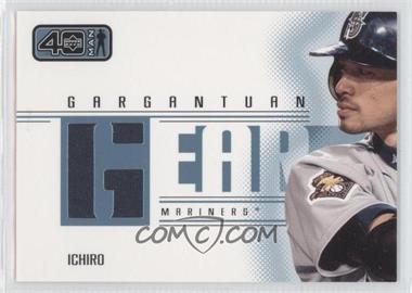 2002 Upper Deck 40 Man - Gargantuan Gear #G-IS - Ichiro
