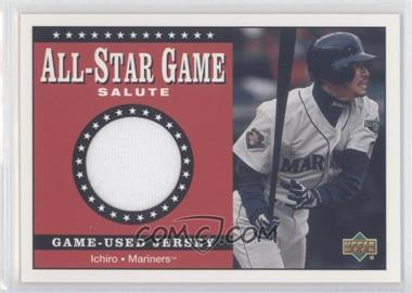 2002 Upper Deck All-Star Game Salute Jerseys #SJ-IS - Ichiro Suzuki