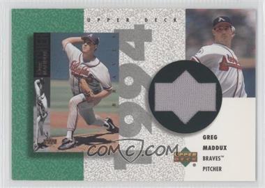 2002 Upper Deck Authentics - Retro UD Jerseys - Non-Numbered #R-GM - Greg Maddux