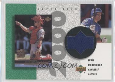 2002 Upper Deck Authentics - Retro UD Jerseys - Non-Numbered #R-IR - Ivan Rodriguez