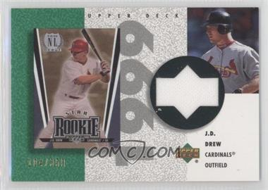 2002 Upper Deck Authentics - Retro UD Jerseys #R-JD - J.D. Drew /350