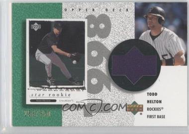 2002 Upper Deck Authentics - Retro UD Jerseys #R-TH - Todd Helton /350