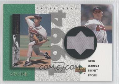 2002 Upper Deck Authentics [???] #R-GM - Greg Maddux /350