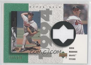 2002 Upper Deck Authentics [???] #R-GM - Greg Maddux /350