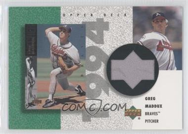 2002 Upper Deck Authentics [???] #R-GM - Greg Maddux