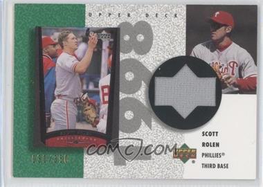 2002 Upper Deck Authentics [???] #R-SR - Scott Rolen /350