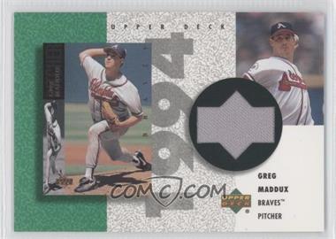 2002 Upper Deck Authentics Retro UD Jerseys Non-Numbered #R-GM - Greg Maddux