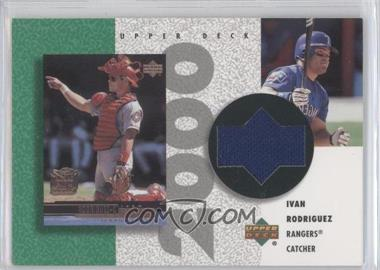 2002 Upper Deck Authentics Retro UD Jerseys Non-Numbered #R-IR - Ivan Rodriguez