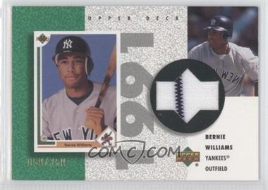 2002 Upper Deck Authentics Retro UD Jerseys #R-BW - Bernie Williams /350