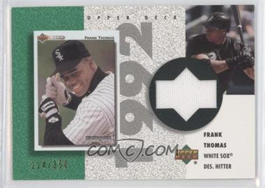2002 Upper Deck Authentics Retro UD Jerseys #R-FT - Frank Thomas /350