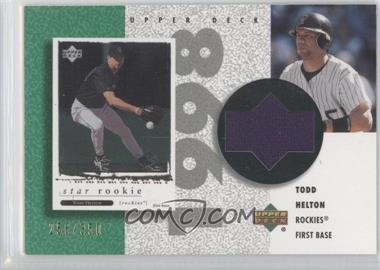 2002 Upper Deck Authentics Retro UD Jerseys #R-TH - Todd Helton /350