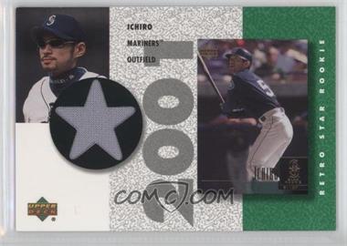 2002 Upper Deck Authentics Retro UD Star Rookies Jerseys #SR-I - Ichiro Suzuki