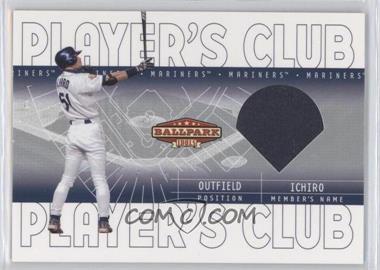 2002 Upper Deck Ballpark Idols Player's Club Jerseys #PC-IS - Ichiro