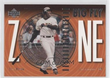 2002 Upper Deck Big Fly Zone #Z6 - Barry Bonds