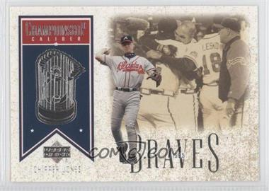2002 Upper Deck Championship Caliber #CC3 - Chipper Jones