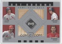 J.D. Drew, Scott Rolen, Tino Martinez, Jim Edmonds