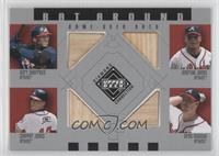 Gary Sheffield, Andruw Jones, Chipper Jones, Greg Maddux