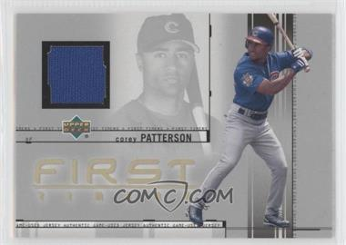 2002 Upper Deck First Timers Jerseys #FT-CP - Corey Patterson