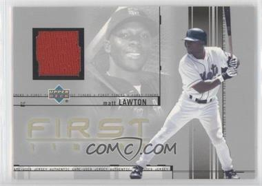 2002 Upper Deck First Timers Jerseys #FT-ML - Matt Lawton