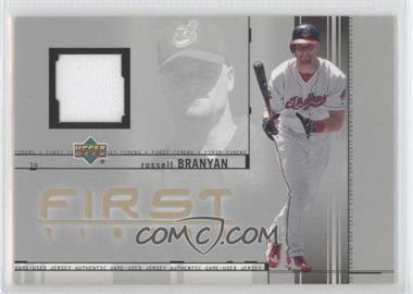 2002 Upper Deck First Timers Jerseys #FT-RB - Russell Branyan