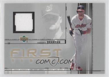 2002 Upper Deck First Timers Jerseys #FT-RB - Russell Branyan