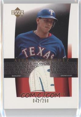 2002 Upper Deck Honor Roll Batting Glove #C-AR - Alex Rodriguez