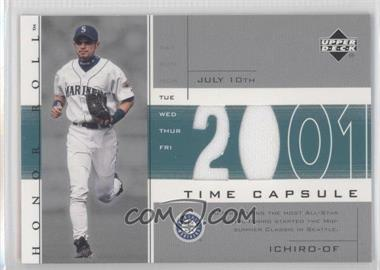 2002 Upper Deck Honor Roll Time Capsule Game Jersey #TC-I2 - Ichiro