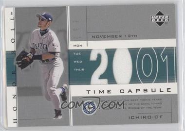 2002 Upper Deck Honor Roll Time Capsule Game Jersey #TC-I3 - Ichiro Suzuki