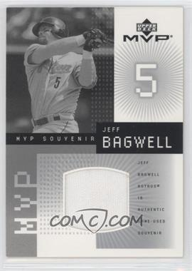 2002 Upper Deck MVP [???] #J-JB - Jeff Bagwell