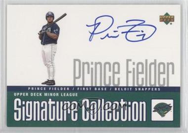 2002 Upper Deck Minor League Baseball - Signature Collection #PF - Prince Fielder
