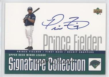 2002 Upper Deck Minor League Baseball [???] #N/A - Prince Fielder