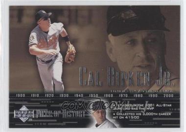 2002 Upper Deck Piece Of History - [Base] #16 - Cal Ripken Jr.
