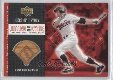 2002 Upper Deck Piece Of History [???] #HC-CF - Carlton Fisk