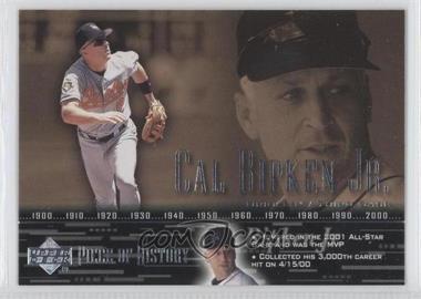 2002 Upper Deck Piece Of History #16 - Cal Ripken Jr.