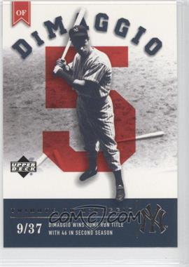 2002 Upper Deck Prospect Premieres - [Base] #105 - Joe DiMaggio