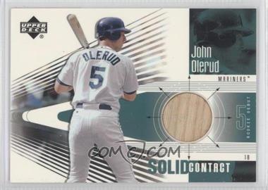 2002 Upper Deck Rookie Debut - Solid Contact #SC-JO - John Olerud