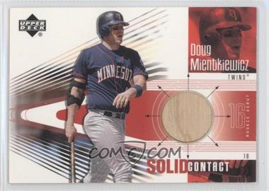 2002 Upper Deck Rookie Debut Solid Contact #SC-DM - Doug Mientkiewicz