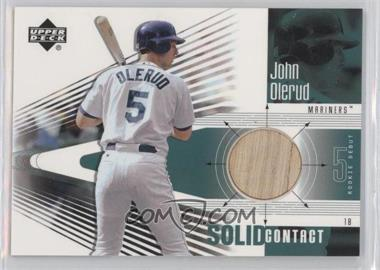 2002 Upper Deck Rookie Debut Solid Contact #SC-JO - John Olerud