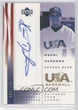 2002 Upper Deck USA Baseball [???] #KD - Kevin Deaton /375