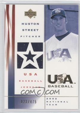 2002 Upper Deck USA Baseball [???] #US-HS - Huston Street /475