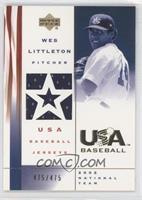 Wes Littleton /475